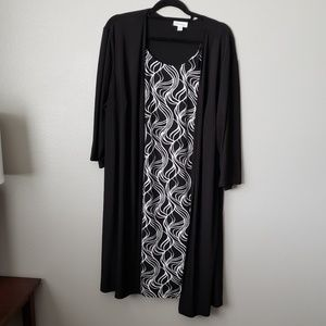 🎉4 for 25$🎉 Fashion Bug Cardiagan Dress Size 2XL